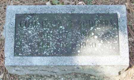 RODGERS, COMMETTA B. - Garland County, Arkansas | COMMETTA B. RODGERS - Arkansas Gravestone Photos