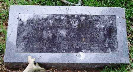 ROHDE, OTTO - Garland County, Arkansas | OTTO ROHDE - Arkansas Gravestone Photos