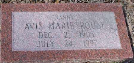 "ROUSE, AVIS MARIE ""NANNY"" - Garland County, Arkansas | AVIS MARIE ""NANNY"" ROUSE - Arkansas Gravestone Photos"