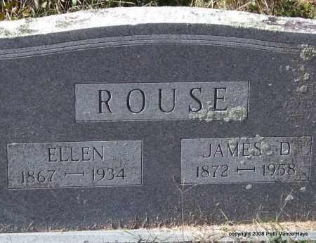 ROUSE, JAMES D. - Garland County, Arkansas | JAMES D. ROUSE - Arkansas Gravestone Photos