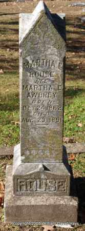 AWBREY ROUSE, MARTHA E. - Garland County, Arkansas | MARTHA E. AWBREY ROUSE - Arkansas Gravestone Photos