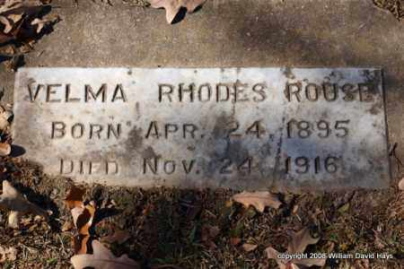 ROUSE, VELMA - Garland County, Arkansas | VELMA ROUSE - Arkansas Gravestone Photos