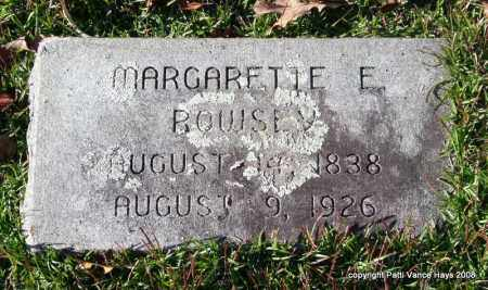ROWSEY, MARGARETTE E. - Garland County, Arkansas | MARGARETTE E. ROWSEY - Arkansas Gravestone Photos