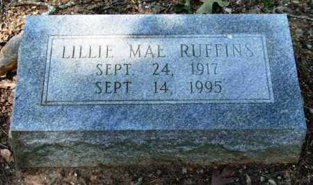 RUFFINS, LILLIE MAE - Garland County, Arkansas | LILLIE MAE RUFFINS - Arkansas Gravestone Photos