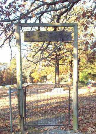 *RUSH FORK CEMETERY, GATE - Garland County, Arkansas | GATE *RUSH FORK CEMETERY - Arkansas Gravestone Photos