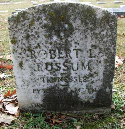 RUSSUM (VETERAN), ROBERT L - Garland County, Arkansas | ROBERT L RUSSUM (VETERAN) - Arkansas Gravestone Photos