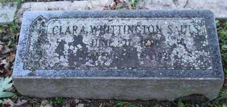 WHITTINGTON SAULS, CLARA - Garland County, Arkansas | CLARA WHITTINGTON SAULS - Arkansas Gravestone Photos