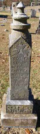 SAULS, ROY F. - Garland County, Arkansas | ROY F. SAULS - Arkansas Gravestone Photos