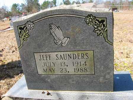 SAUNDERS, JEFF - Garland County, Arkansas | JEFF SAUNDERS - Arkansas Gravestone Photos