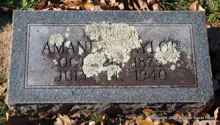 SAYLOR, AMANDA - Garland County, Arkansas | AMANDA SAYLOR - Arkansas Gravestone Photos