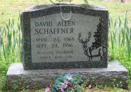 SCHAFFNER, DAVID ALLEN - Garland County, Arkansas | DAVID ALLEN SCHAFFNER - Arkansas Gravestone Photos