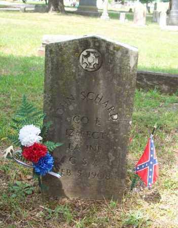 SCHARDT (VETERAN CSA), JOHN - Garland County, Arkansas | JOHN SCHARDT (VETERAN CSA) - Arkansas Gravestone Photos