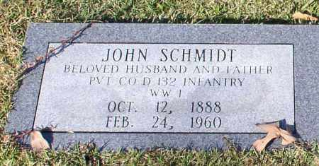 SCHMIDT (VETERAN WWI), JOHN - Garland County, Arkansas | JOHN SCHMIDT (VETERAN WWI) - Arkansas Gravestone Photos