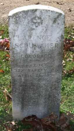 SCHUMAKER (VETERAN WWI), CLARENCE A - Garland County, Arkansas | CLARENCE A SCHUMAKER (VETERAN WWI) - Arkansas Gravestone Photos