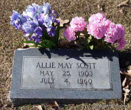 SCOTT, ALLIE MAY - Garland County, Arkansas | ALLIE MAY SCOTT - Arkansas Gravestone Photos