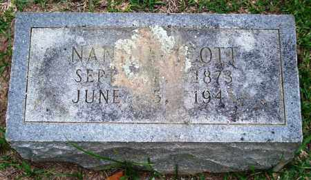 SCOTT, NANNIE - Garland County, Arkansas | NANNIE SCOTT - Arkansas Gravestone Photos