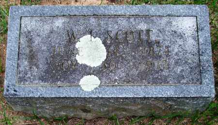 SCOTT, W. L. - Garland County, Arkansas | W. L. SCOTT - Arkansas Gravestone Photos