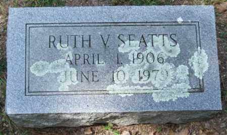 SEATTS, RUTH V. - Garland County, Arkansas | RUTH V. SEATTS - Arkansas Gravestone Photos