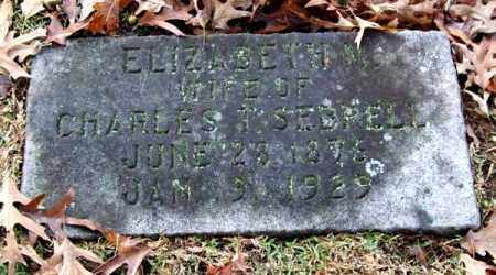 SEBRELL, ELIZABETH M. - Garland County, Arkansas | ELIZABETH M. SEBRELL - Arkansas Gravestone Photos