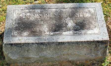 RUSSELL SEIZ, DORIS - Garland County, Arkansas | DORIS RUSSELL SEIZ - Arkansas Gravestone Photos
