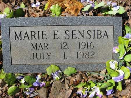 SENSIBA, MARIE E. - Garland County, Arkansas | MARIE E. SENSIBA - Arkansas Gravestone Photos