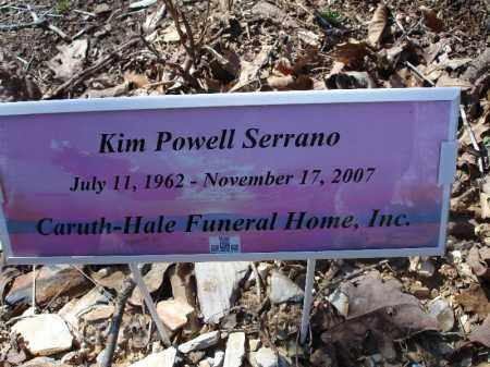 SERRANO, KIM POWELL - Garland County, Arkansas | KIM POWELL SERRANO - Arkansas Gravestone Photos