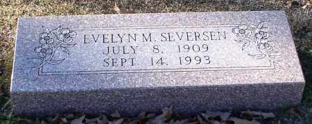 SEVERSEN, EVELYN MARCELLA - Garland County, Arkansas | EVELYN MARCELLA SEVERSEN - Arkansas Gravestone Photos
