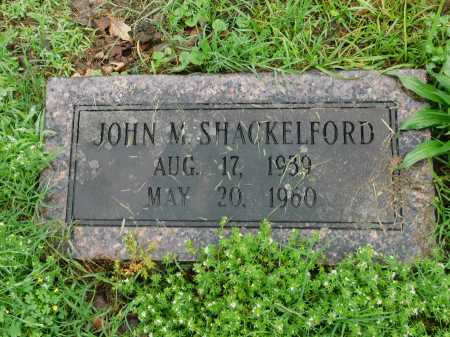 SHACKELFORD, JOHN M. - Garland County, Arkansas | JOHN M. SHACKELFORD - Arkansas Gravestone Photos