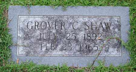 SHAW, GROVER C. - Garland County, Arkansas | GROVER C. SHAW - Arkansas Gravestone Photos
