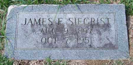 SIEGRIST, JAMES E. - Garland County, Arkansas | JAMES E. SIEGRIST - Arkansas Gravestone Photos