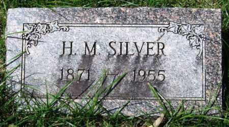 SILVER, H. M. - Garland County, Arkansas | H. M. SILVER - Arkansas Gravestone Photos