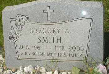 SMITH, GREGORY A. - Garland County, Arkansas | GREGORY A. SMITH - Arkansas Gravestone Photos