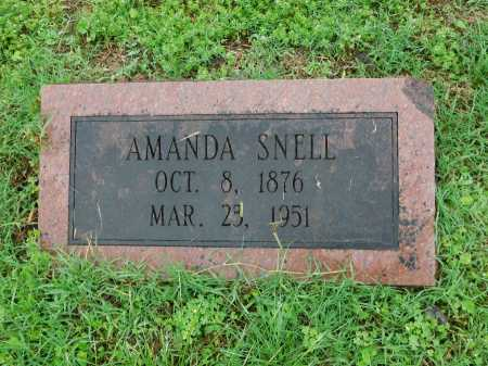 SNELL, AMANDA - Garland County, Arkansas | AMANDA SNELL - Arkansas Gravestone Photos