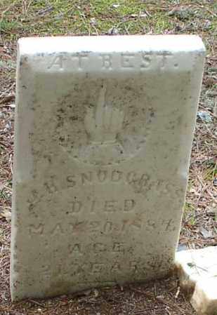 SNODGRASS, JOHN H. - Garland County, Arkansas | JOHN H. SNODGRASS - Arkansas Gravestone Photos