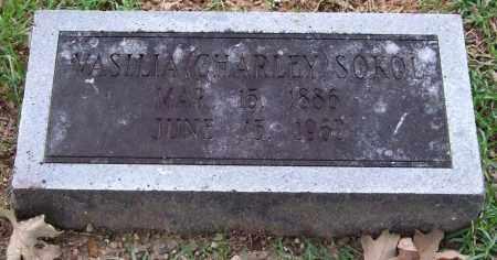 SOKOL, VASILIA (CHARLEY) - Garland County, Arkansas | VASILIA (CHARLEY) SOKOL - Arkansas Gravestone Photos