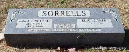 FISHER SORRELLS, WANDA JUNE TENNESSEE - Garland County, Arkansas | WANDA JUNE TENNESSEE FISHER SORRELLS - Arkansas Gravestone Photos