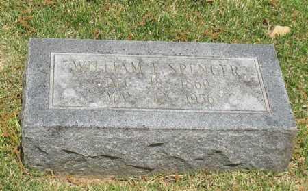 SPENCER, WILLIAM E. - Garland County, Arkansas | WILLIAM E. SPENCER - Arkansas Gravestone Photos