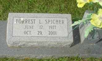 SPICHER, FORREST L. - Garland County, Arkansas | FORREST L. SPICHER - Arkansas Gravestone Photos