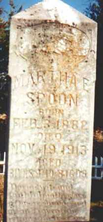 SPOONE, MARTHA E. - Garland County, Arkansas | MARTHA E. SPOONE - Arkansas Gravestone Photos