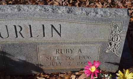 SPURLIN, RUBY A. (CLOSE UP) - Garland County, Arkansas | RUBY A. (CLOSE UP) SPURLIN - Arkansas Gravestone Photos