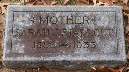 STALLCUP, SARAH J. - Garland County, Arkansas | SARAH J. STALLCUP - Arkansas Gravestone Photos