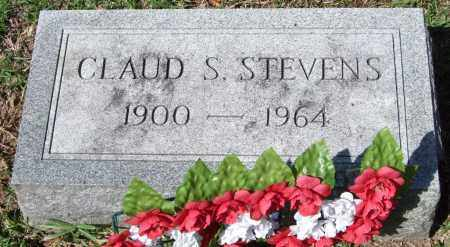 STEVENS, CLAUD S. - Garland County, Arkansas | CLAUD S. STEVENS - Arkansas Gravestone Photos