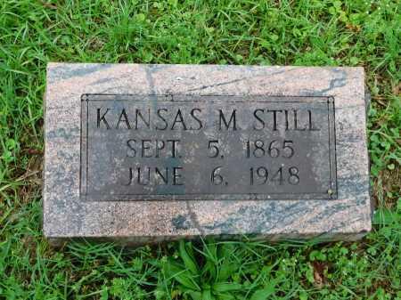 STILL, KANSAS M. - Garland County, Arkansas | KANSAS M. STILL - Arkansas Gravestone Photos