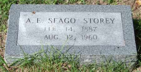 STOREY, A. E. SEAGO - Garland County, Arkansas | A. E. SEAGO STOREY - Arkansas Gravestone Photos
