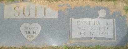 SUIT, CYNTHIA A. - Garland County, Arkansas | CYNTHIA A. SUIT - Arkansas Gravestone Photos