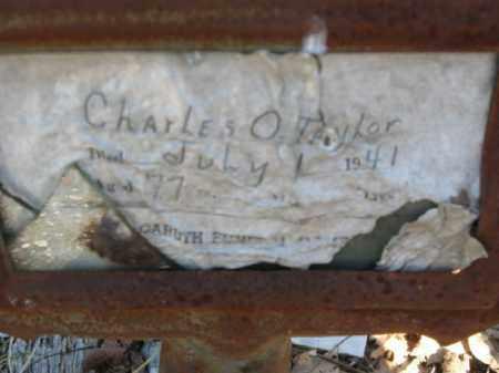 TAYLOR, CHARLES O. - Garland County, Arkansas | CHARLES O. TAYLOR - Arkansas Gravestone Photos
