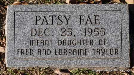 TAYLOR, PATSY FAE - Garland County, Arkansas | PATSY FAE TAYLOR - Arkansas Gravestone Photos