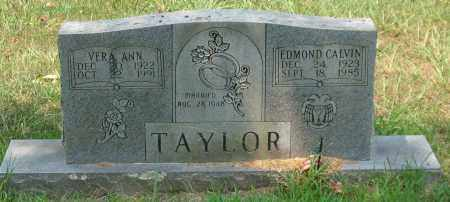 TAYLOR, EDMOND CALVIN - Garland County, Arkansas | EDMOND CALVIN TAYLOR - Arkansas Gravestone Photos