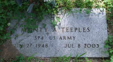 TEEPLES (VETERAN), MONTY A. - Garland County, Arkansas | MONTY A. TEEPLES (VETERAN) - Arkansas Gravestone Photos