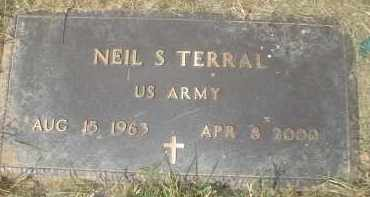 TERRAL (VETERAN), NEIL S - Garland County, Arkansas | NEIL S TERRAL (VETERAN) - Arkansas Gravestone Photos